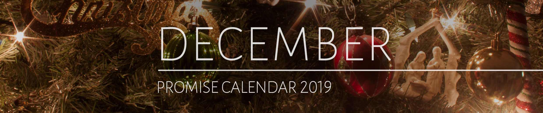 December 2019 Promise Calendar Header
