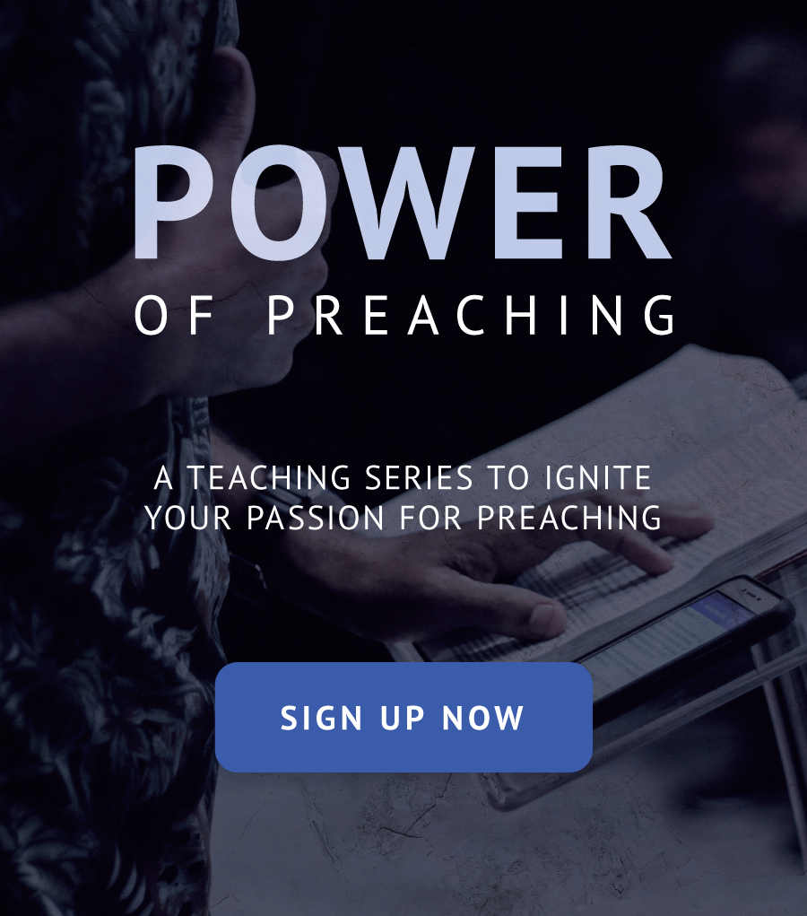 Power of Preaching Series