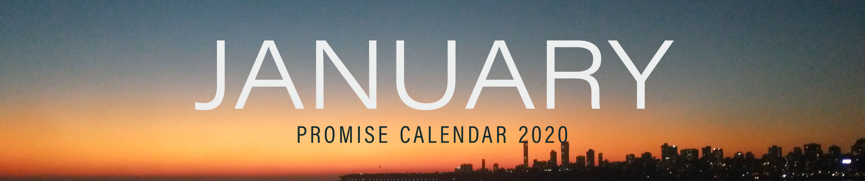 January - Promise Calendar 2020