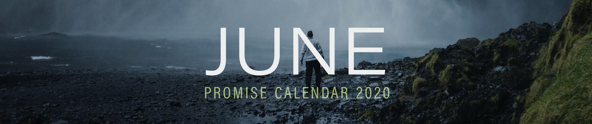 June 2020 Promise Calendar Header