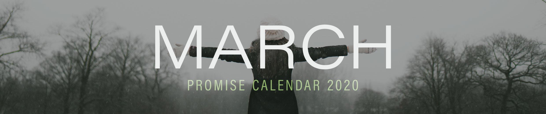 March 2020 Promise Calendar