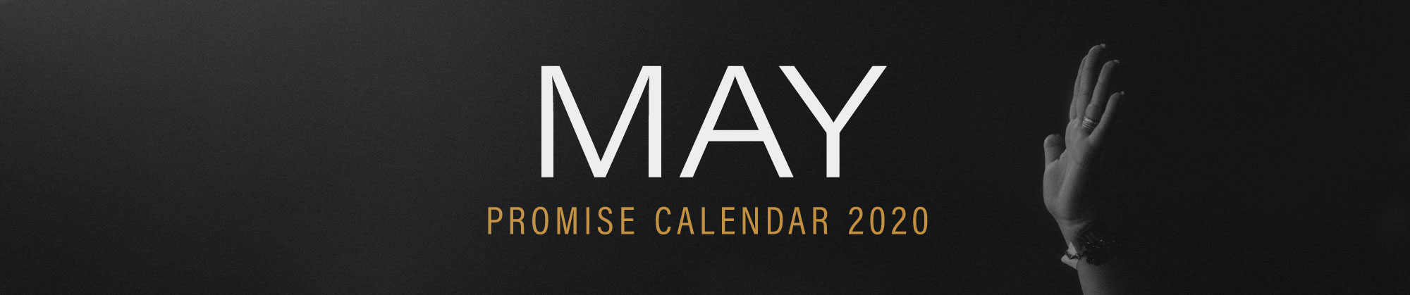 May 2020 Promise Calendar