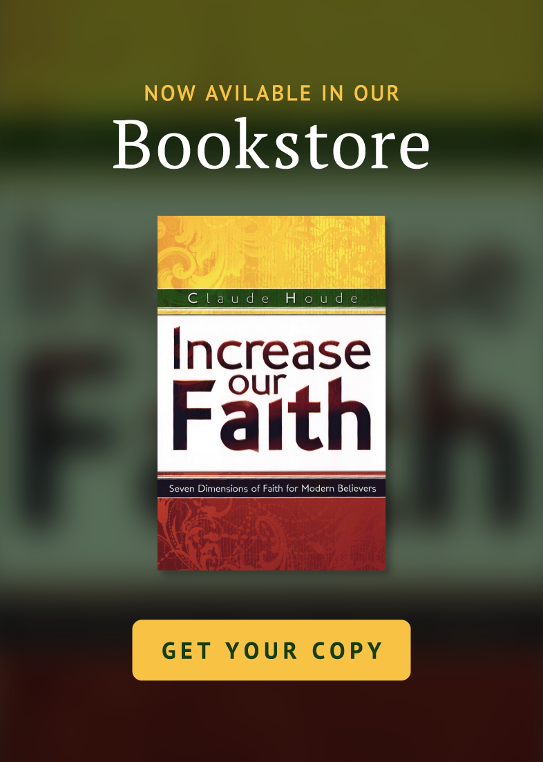 Now Available In Our Bookstore: Increase Our Faith by Carter Conlon - Get Your Copy Now